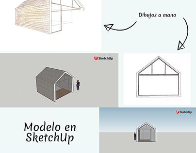 Representación arquitectónica - Island House