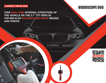 Video Scope Print Ad Design