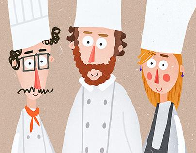 Activity Cookbook Menu