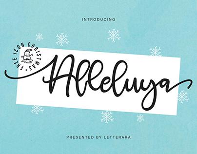 Free Alleluya Script Font