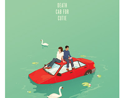 Death Cab for Cutie tour poster