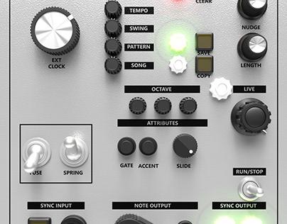 Control Knob Set 3D Model