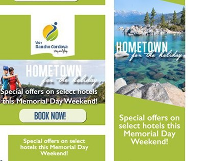 Hometown for the Holidays Display Ad Campaign
