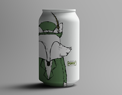 Forst beer limited edition-Illustration