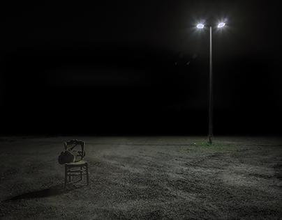 En présence de l'obscurité