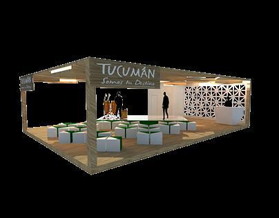 Stand Comercial inspirado en Tucumán
