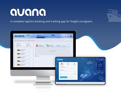 Avana Logistics Booking App - Design & Dev