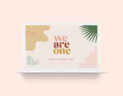 We All Grow Latina Summit 2020 Branding