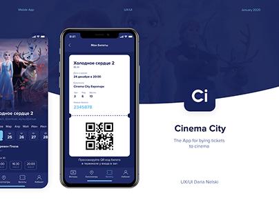 Cinema City iOS App UX/UI