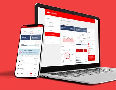 Santander budget planner