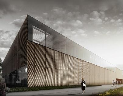 Poznan university sports centre