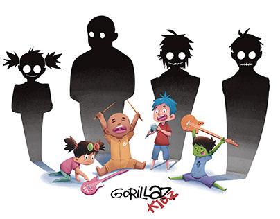 Gorillaz Kids