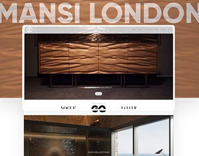 Mansi London Marble Furniture - Website Design