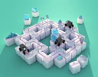 Cubeing - Building blocks for programming enlightment