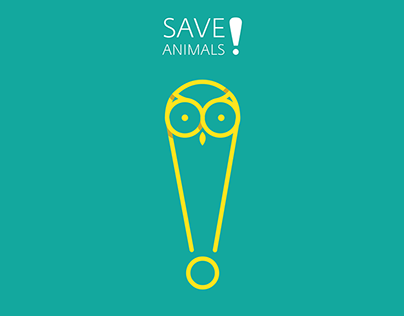 Save animals | poster series