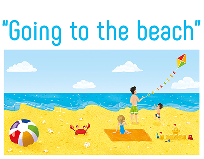 Going to the beach | Children's book