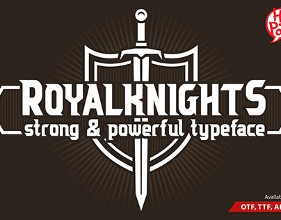 Royal Knights Font