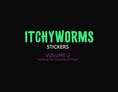 Itchyworms Stickers Volume 2