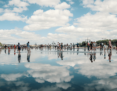 Water Reflections - Bordeaux