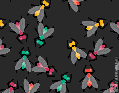 No Flies On Me [Surface Pattern Design Collection]