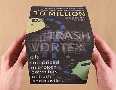 interactive cube || trash vortex