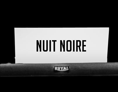 Nuit Noire Main Title