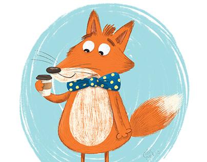 fox and coffee