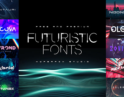 Best Futuristic Fonts Collection