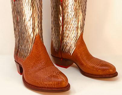 CHEZ PRAS Boots