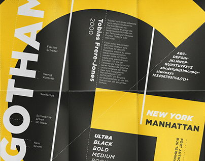 Gotham | Type-Poster