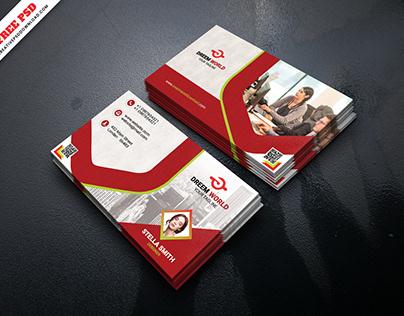 Graphic Designer Business Card Free PSD