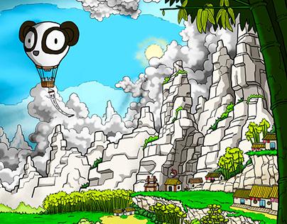 Panda Island poster