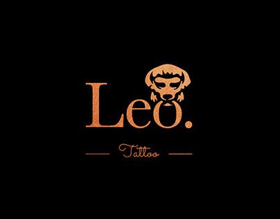 Leo Tattoo artist logo