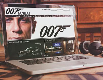 007 Museum Website Rebuild