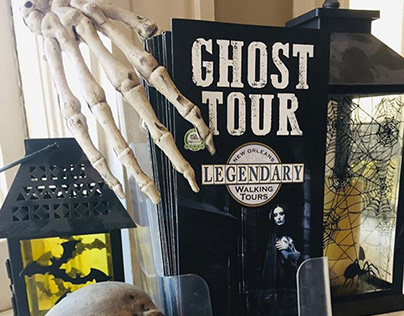 Ghost Tour Brochure