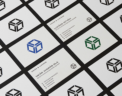 Vikar&Lukacs Architect Studio brand identity and web