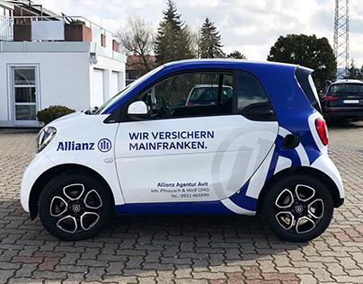 Allianz – Autobeklebung