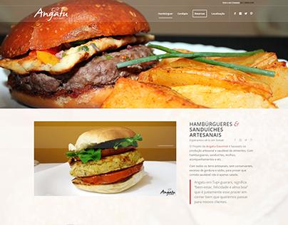 Criação de Site - Angatu Gourmet