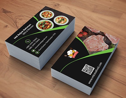 Restaurants Business Card