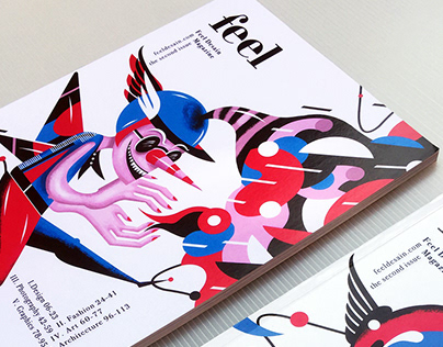 Editorial | Magazine cover illustrations