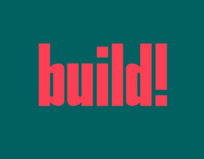 BUILD! - FREE SANS SERIF TYPEFACE