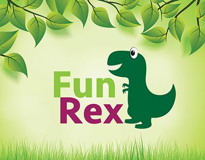 Projeto Gráfico | Fun Rex - Brinquedoteca