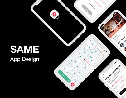 SAME App Design