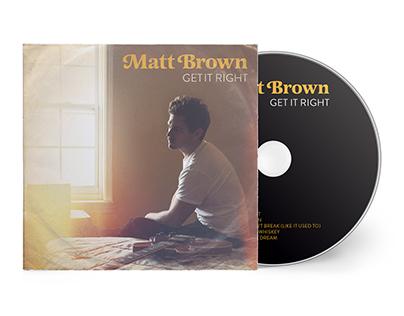Matt Brown - Get It Right CD Artwork