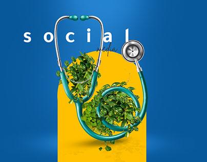 medical social media designs