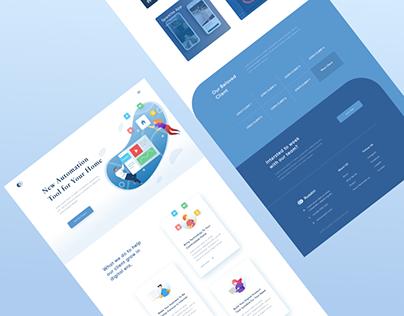 Ruaskiri Website Design
