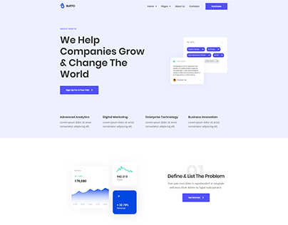Burto-Website Website Design