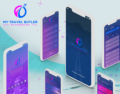 Travel Mobile App UI UX