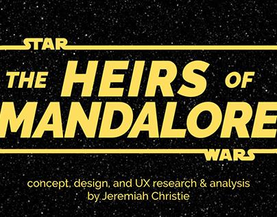 Star Wars: Heirs of Mandalore Game Design & UX Analysis
