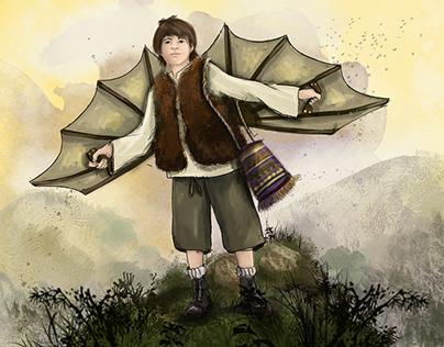 Children's books illustrations BIGZ Školstvo